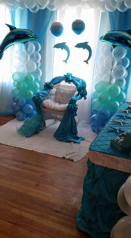 Teal And Gray Chair