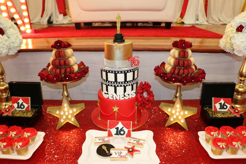Hollywood Birthday Party Ideas Photo 1 Of 16 Catch My