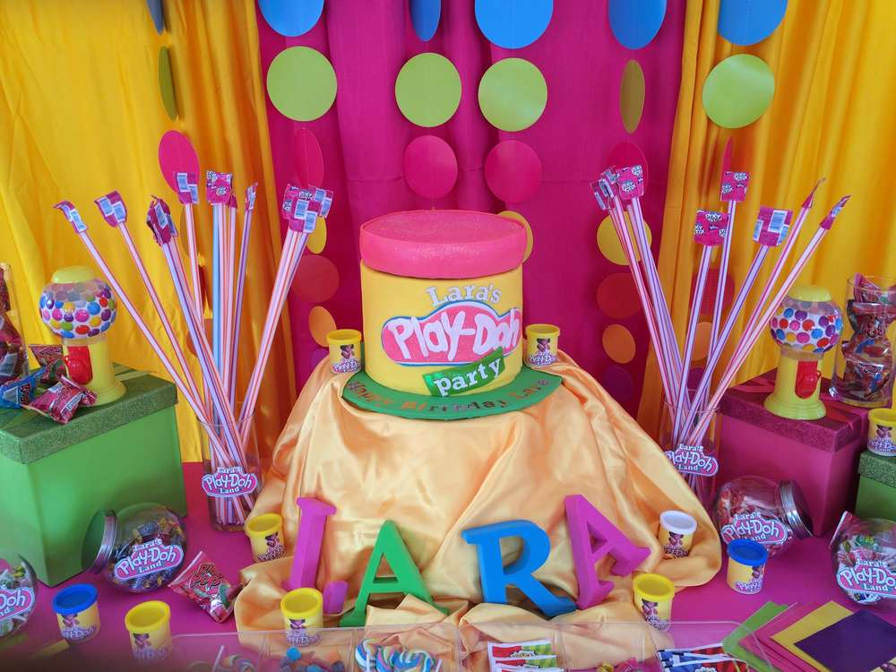 Play Doh Birthday Party Ideas Photo 9 Of 19 Catch My Party