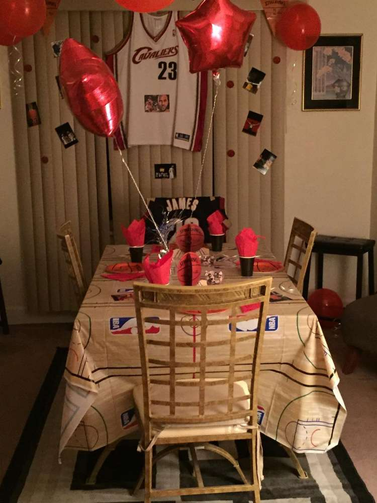 Basketball Birthday Party Ideas Photo 7 Of 21 Catch My Party