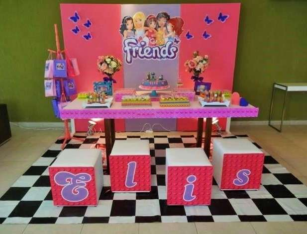Lego Friends Birthday Party Ideas Photo 4 Of 18 Catch My Party