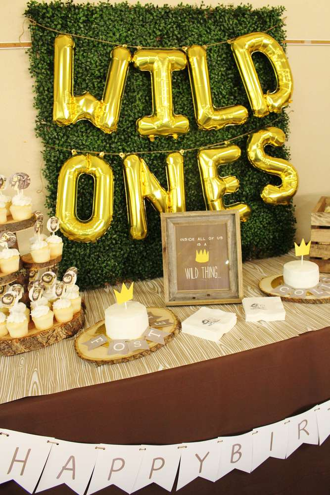Where The Wild Things Are Birthday Party Ideas Photo 3 Of 22 Catch My Party