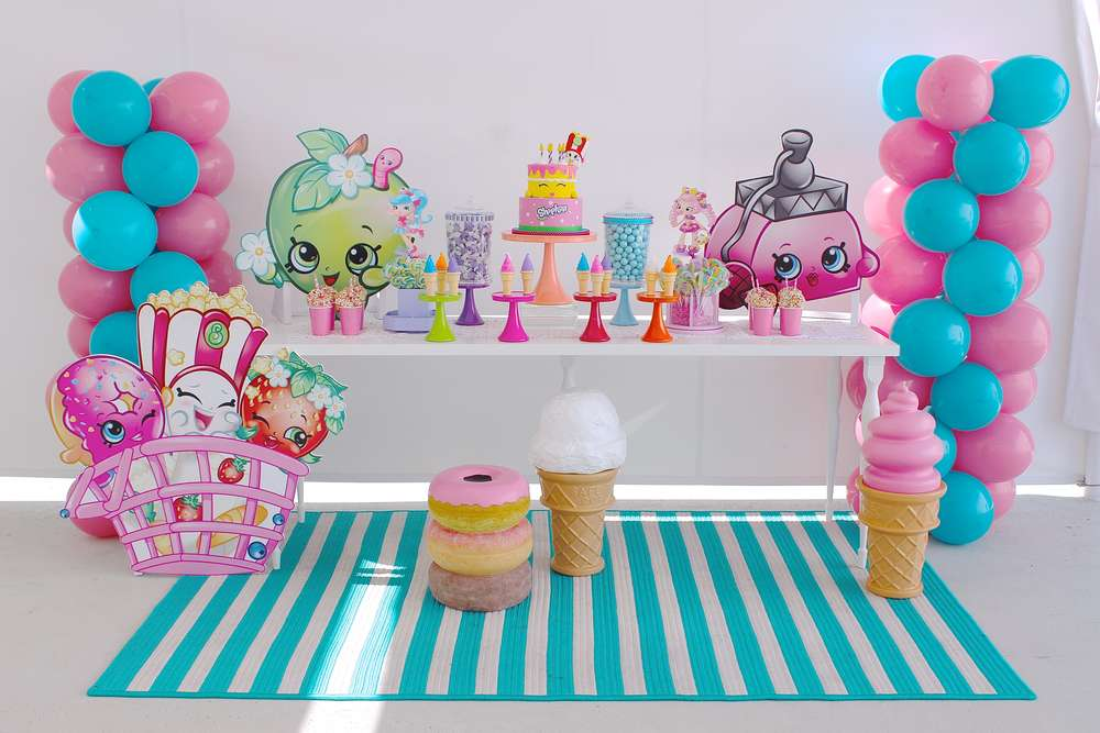 Shopkins Birthday Party Ideas Photo 1 Of 58 Catch My Party