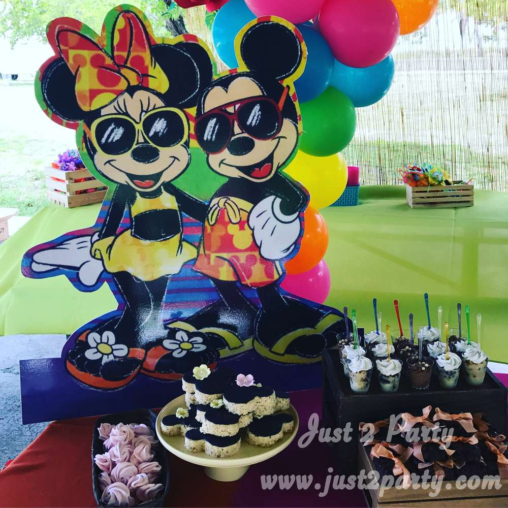 Mickey Mouse Minnie Mouse Birthday Party Ideas Photo 2 Of 30 Catch My Party