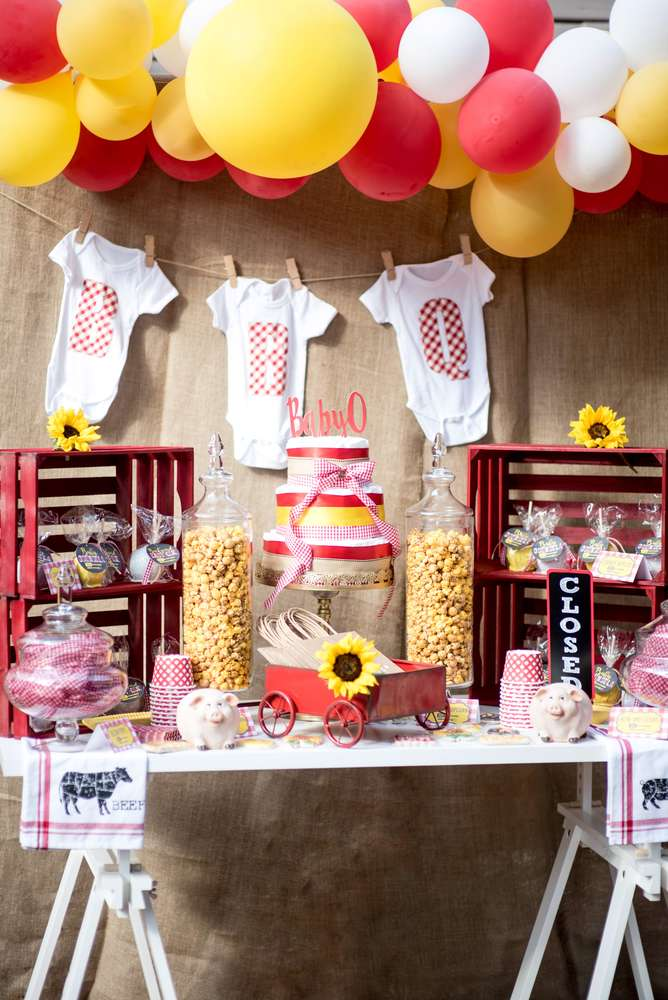BBQ Baby Shower Party Ideas Photo 1 Of 23 Catch My Party