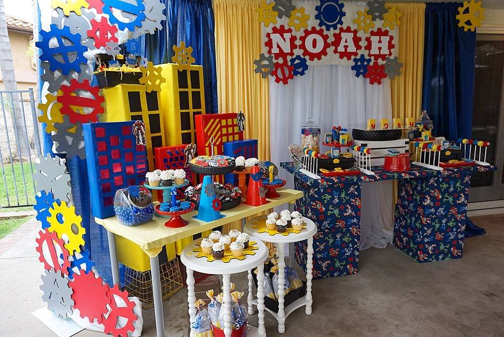 Transformers Birthday Party Ideas Photo 3 Of 15 Catch My Party