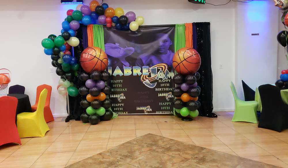 Space Jam Birthday Party Ideas Photo 1 Of 17 Catch My Party