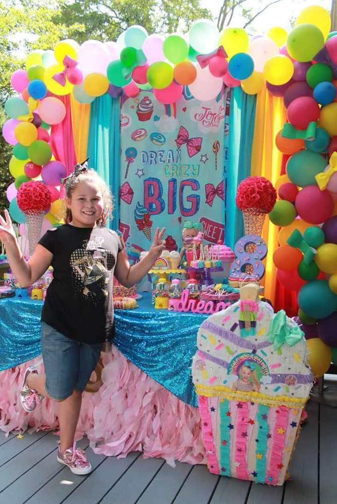 jojo siwa birthday party ideas photo
