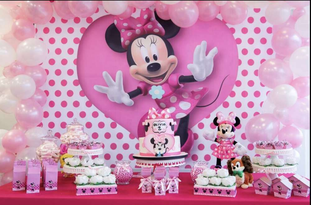 Minnie Mouse Birthday Party Ideas Photo 1 Of 12 Catch My Party