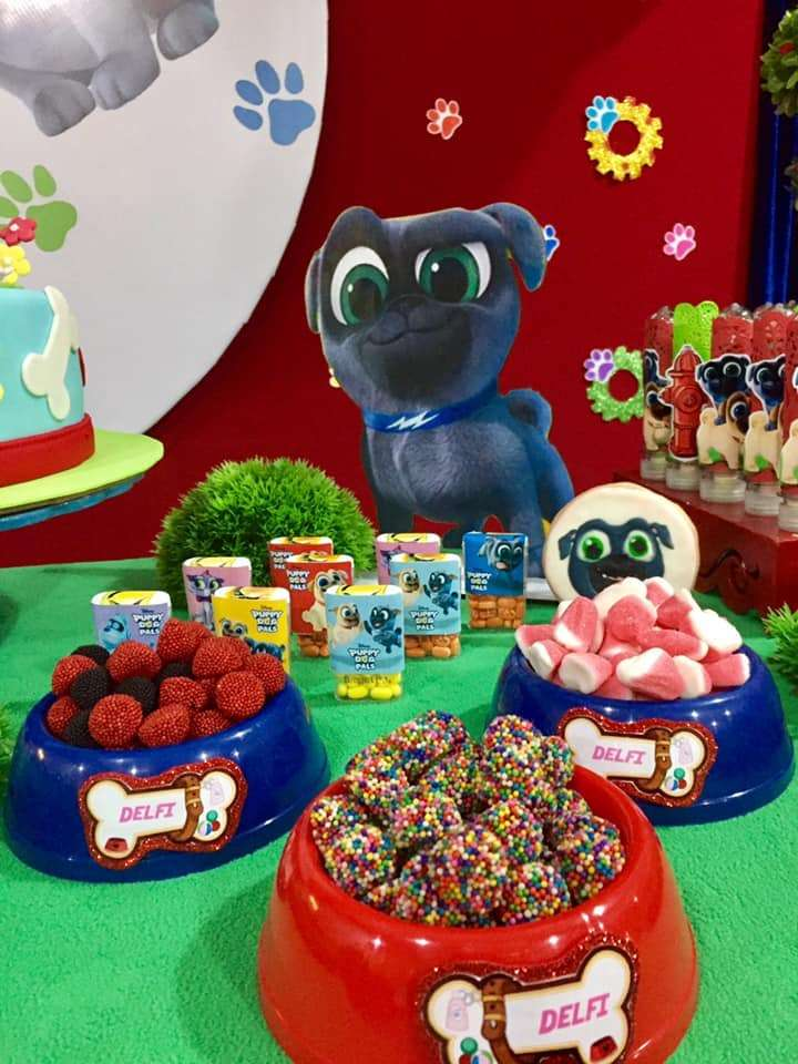 Puppy Dog Pals Birthday Party Ideas Photo 1 Of 14 Catch My Party