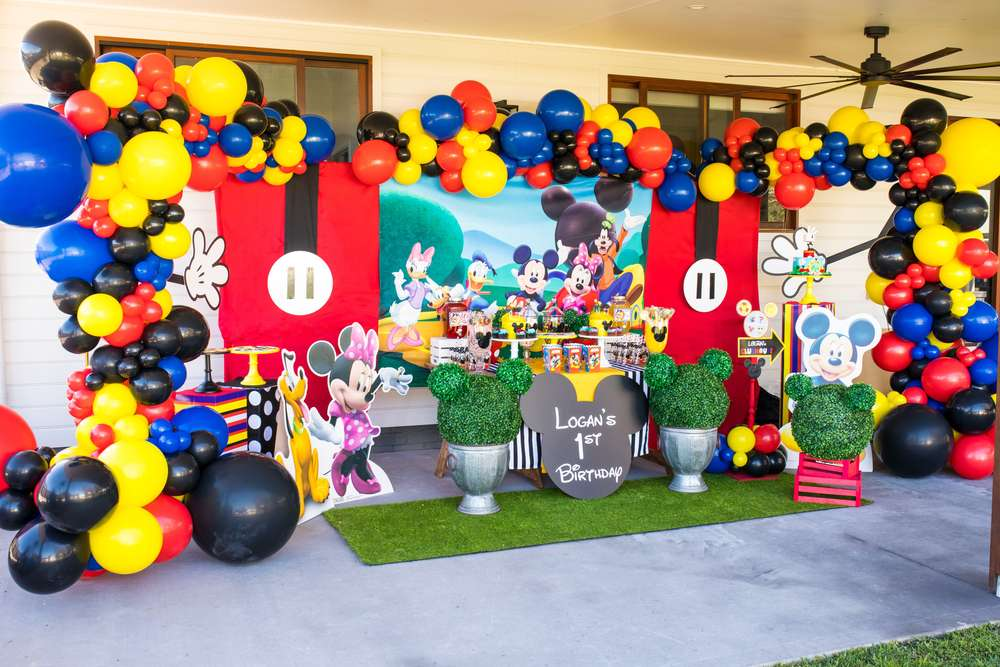 Mickey Mouse Clubhouse Birthday Party Ideas Photo 1 Of 12 Catch My Party