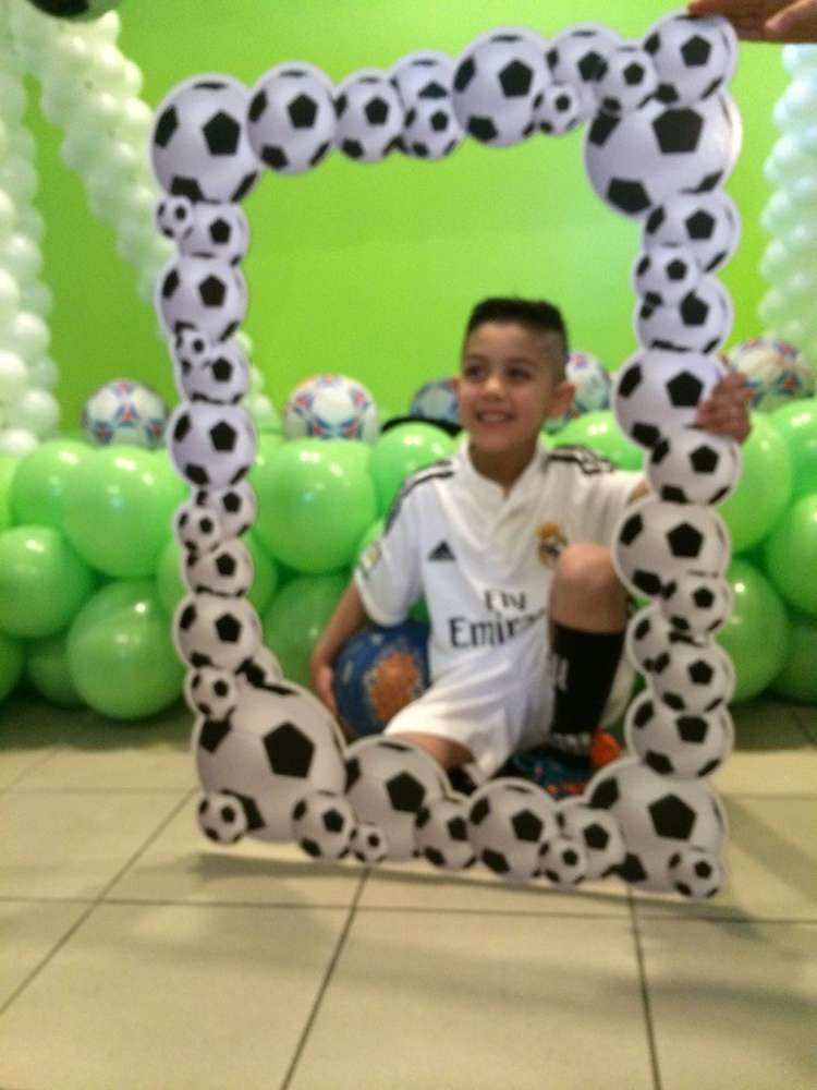 Soccer Theme Birthday Party Ideas Photo 2 Of 12 Catch My Party