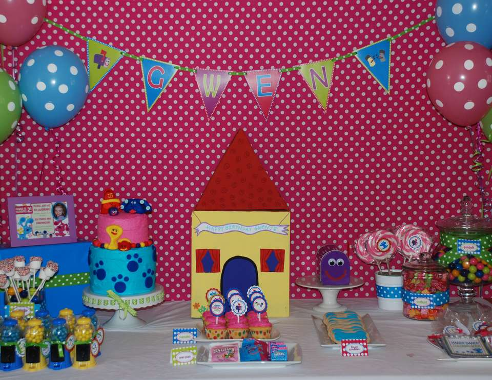 Blues Clues Birthday Blues Clues Inspired Birthday Party Catch My Party