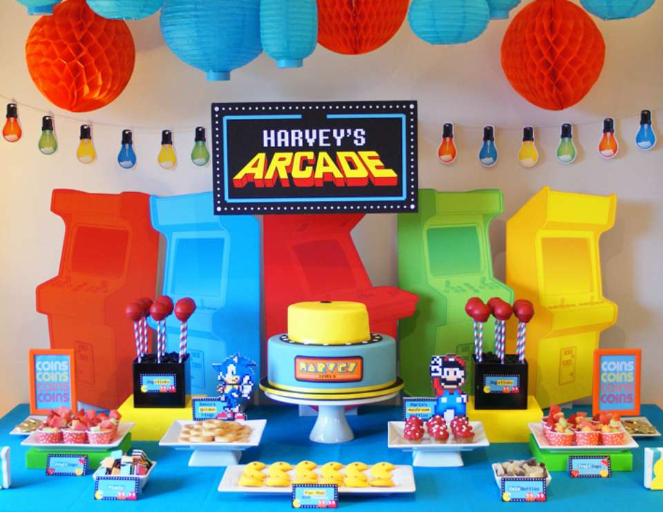 Pac Man Party Ideas Catch My Party
