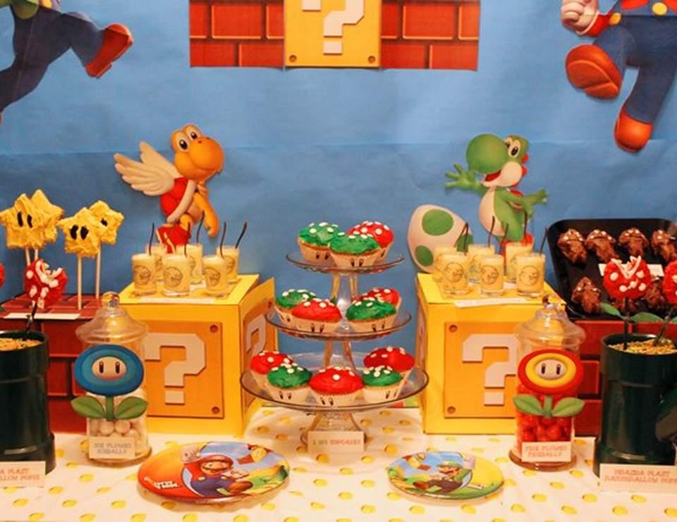Mario Bros Birthday Mario Bros Birthday Party Catch My Party