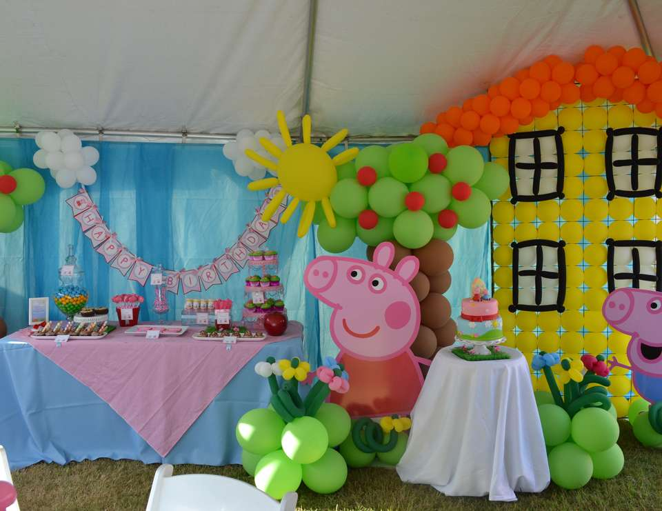 Peppa Pig Birthday Peppa Pig Party Catch My Party