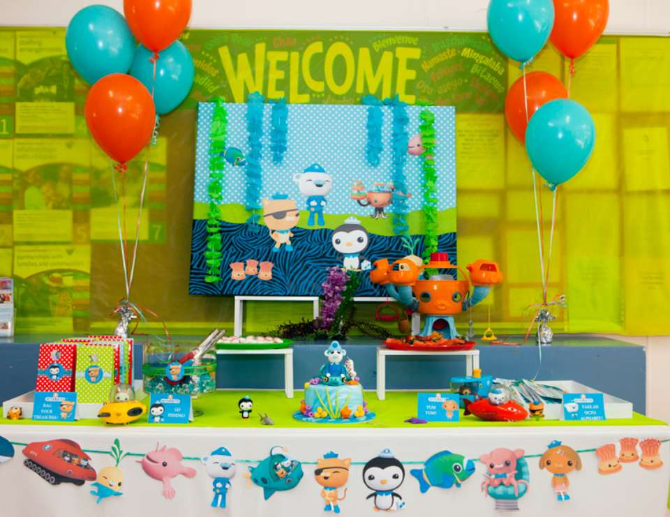 octonauts birthday party ideas photo