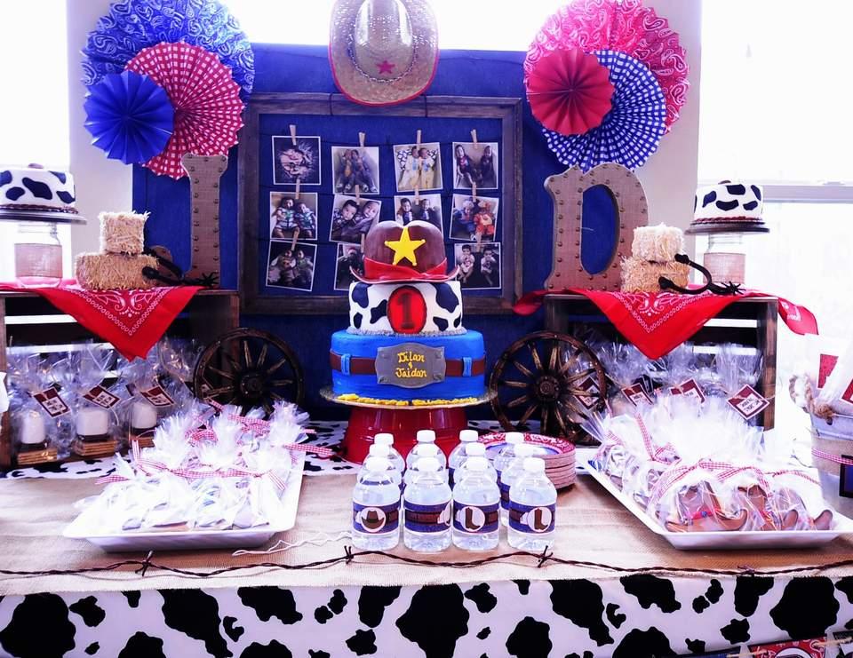 Western Birthday Jaidan Dilan S Western Themed 1st Birthday Party Catch My Party