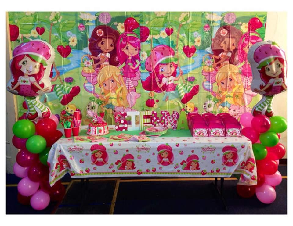 Strawberry Shortcake Birthday Strawberry Shortcake Inspired Birthday Party Catch My Party