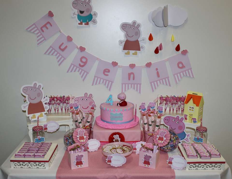Peppa Pig Birthday Candy Bar Peppa Pig Catch My Party