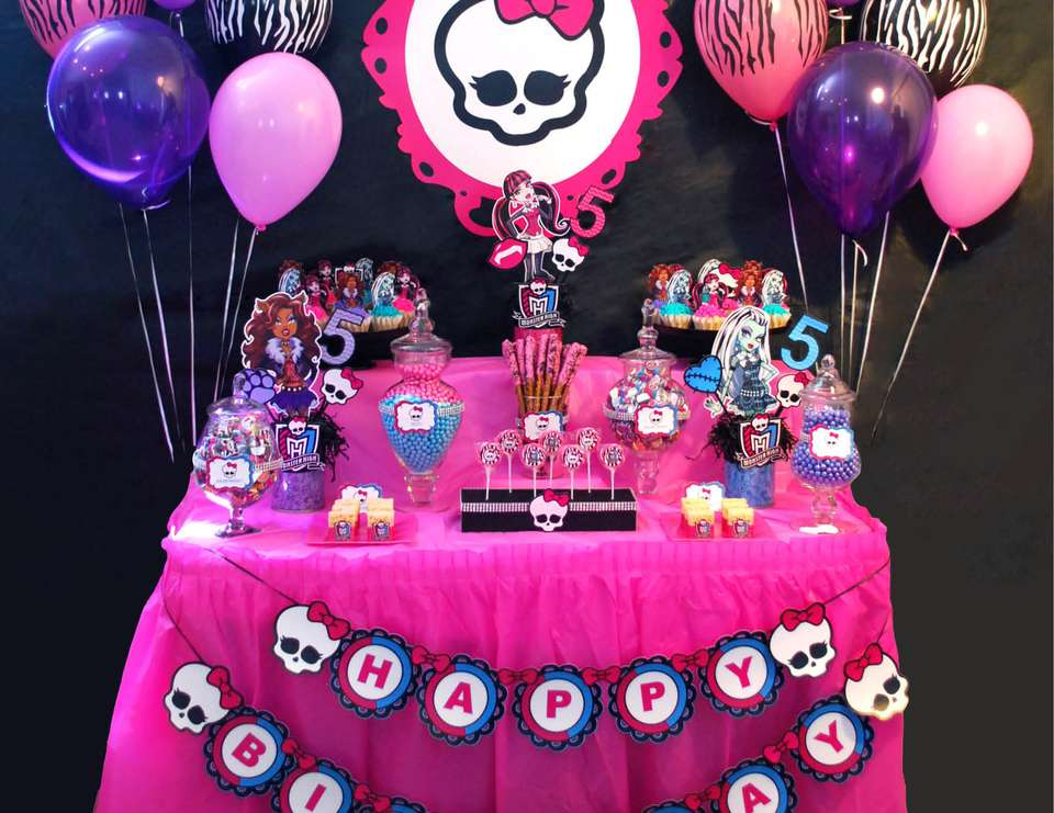 Monster High Birthday Monster High Party Catch My Party
