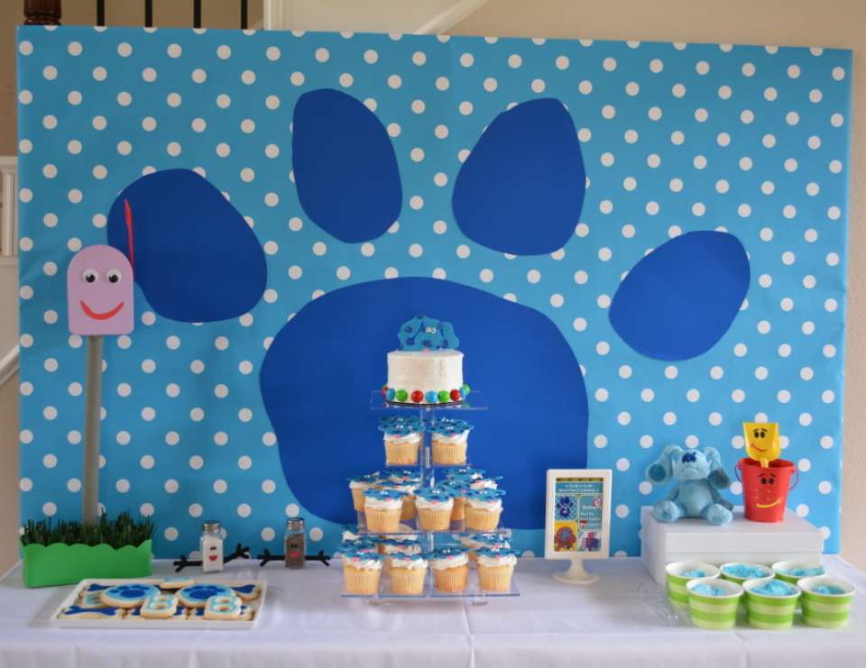 Blue S Clues Birthday Braxton S 2nd Blues Clues Birthday Party Catch My Party