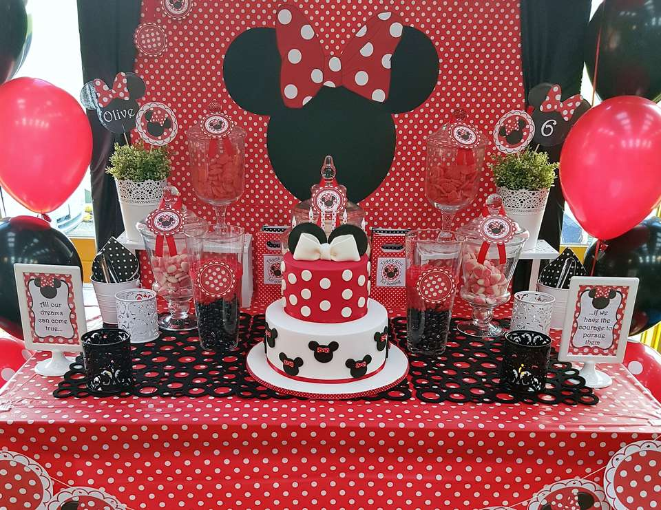 Mickey Mouse Party Candy