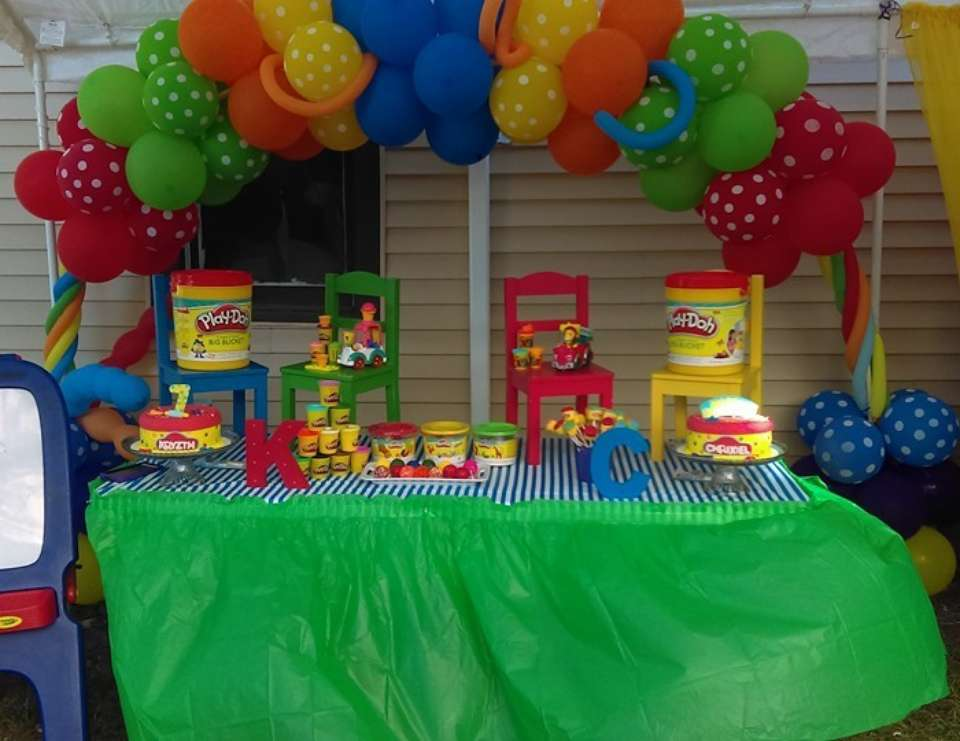 Play Doh Party Ideas For A Girl Birthday Catch My Party