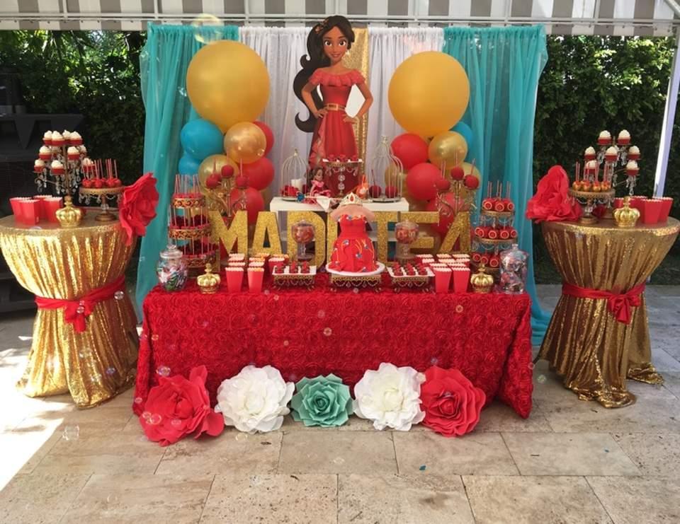 Elena Of Avalor Birthday Maddie Of Avalor Birthday Party Catch My Party