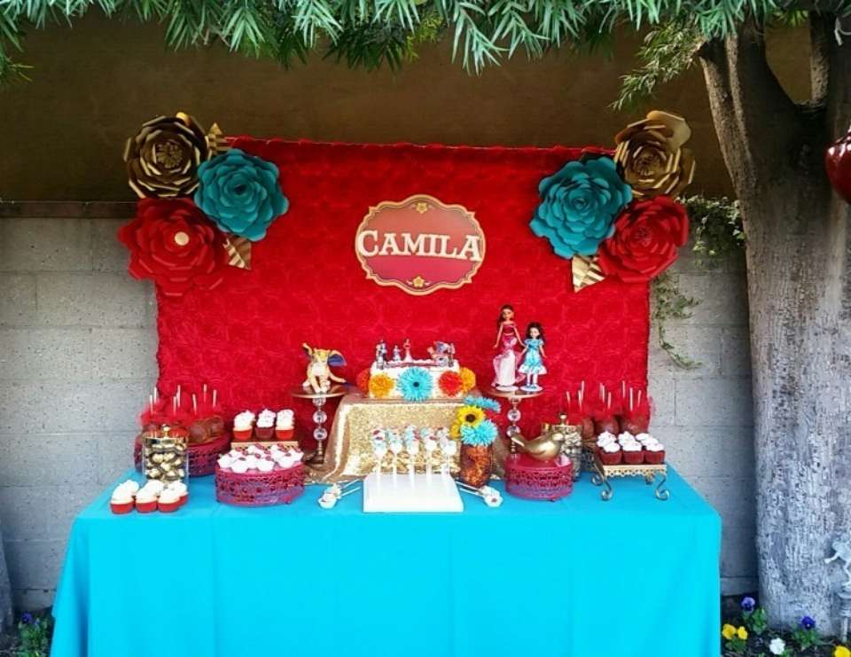 Elena Of Avalor Birthday Elena Of Avalor Birthday Party Catch My Party