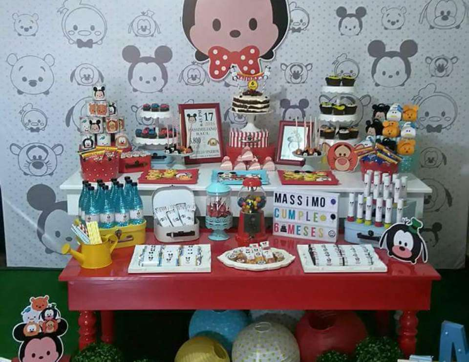 Mickey Mouse Tsum Tsum Birthday Mickey Mouse Tsum Tsum Birthday Party Catch My Party