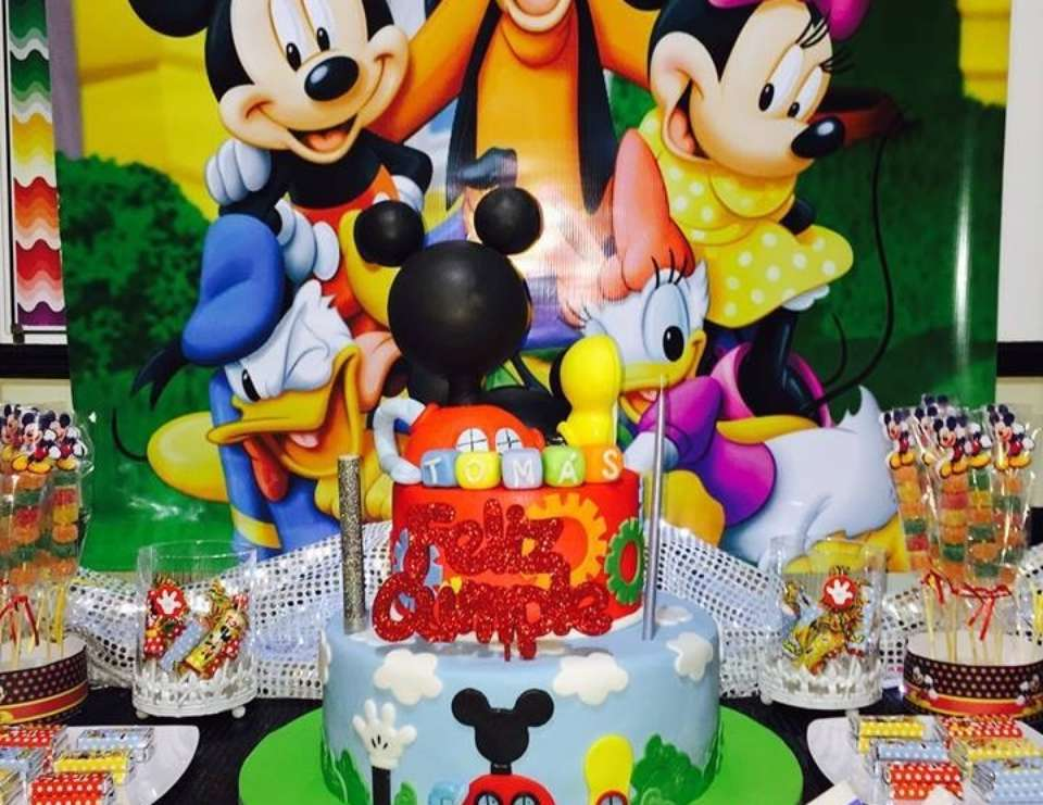 Mickey Mouse Minnie Mouse Birthday Mickey And Friends Birthday Party Catch My Party