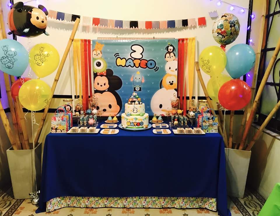Tsum Tsum Birthday Mateo S Tsum Tsum Birthday Party Catch My Party
