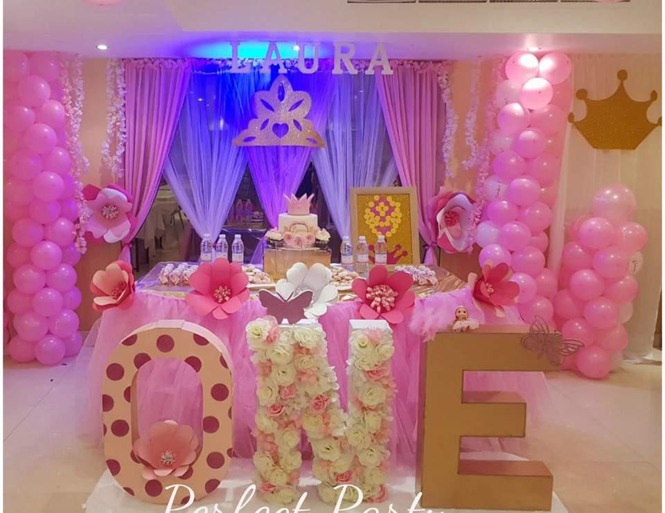 Princess Birthday Princess Theme 1st Birthday Party Catch My Party