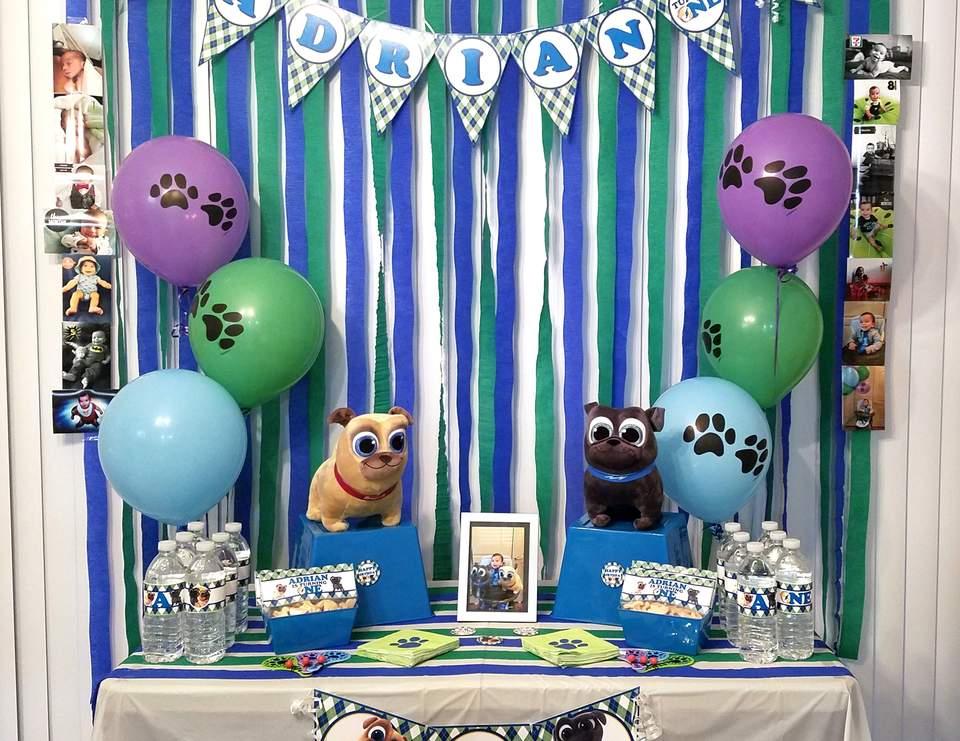 Puppy Dog Pals Birthday Puppy Dog Pals 1st Birthday Catch My Party