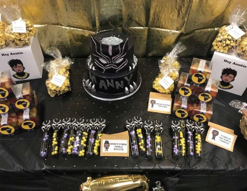 Black Panther Birthday Manny S Wakanda Celebration Catch My Party