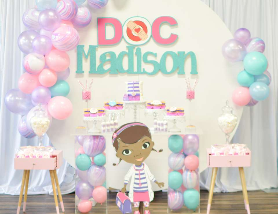 Doc Mcstuffins Birthday Doc Mcstuffins Birthday Party Catch My Party