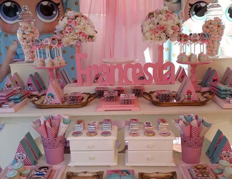 6th Years Frasncesca Lol Surprise Birthday Francesca S Lol Surprise Dolls 6th Birthday Party Catch My Party