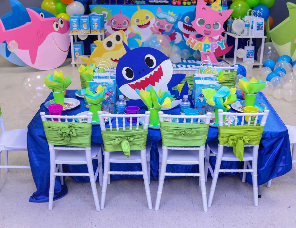 Baby Shark Birthday Baby Shark 1st Birthday Party Catch My Party