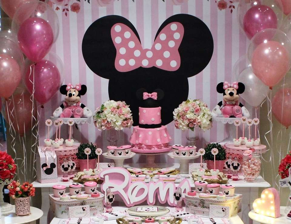 Mickey Mouse Minnie Mouse Birthday Minnie Mouse Birthday Party Catch My Party