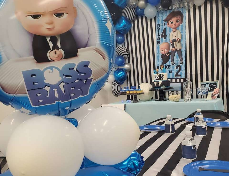 Boss Baby Birthday Boss Baby Party Catch My Party