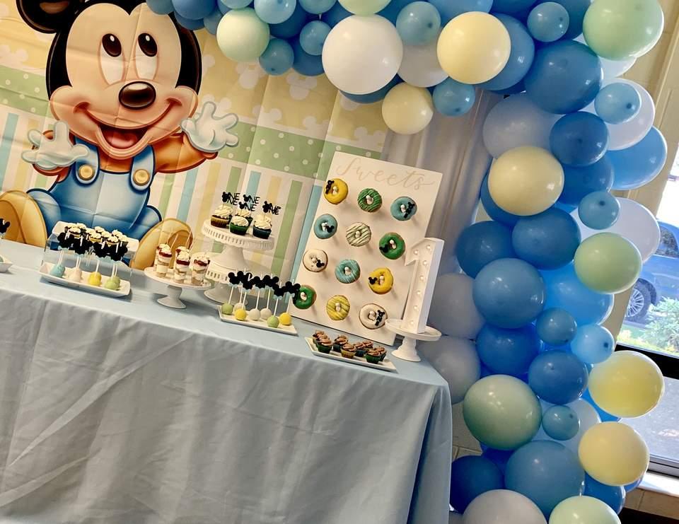 Baby Mickey Birthday Baby Mickey 1st Birthday Catch My Party