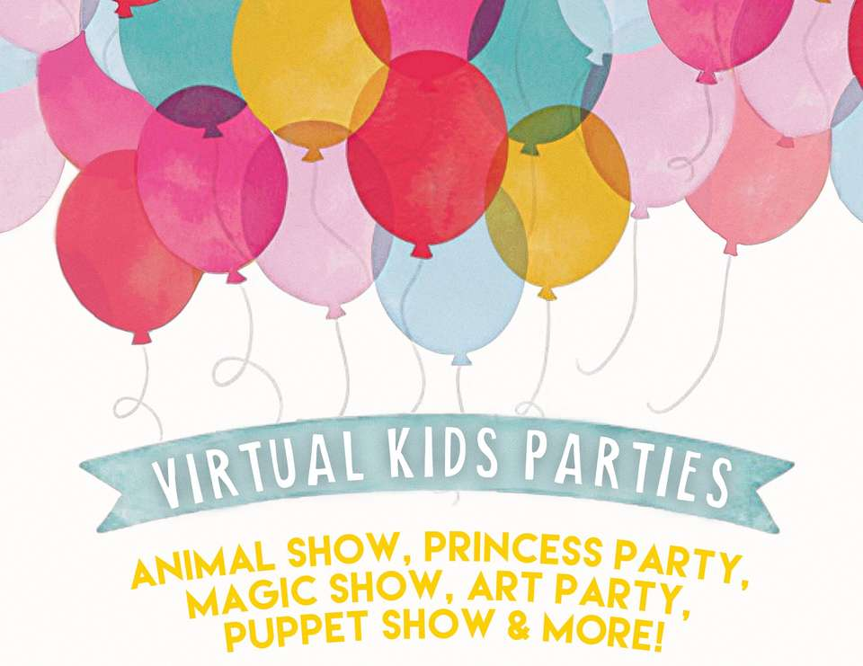 Animal Show Princess Party Magic Show Art Party Puppet Show More Birthday Virtual Kid S Parties Catch My Party