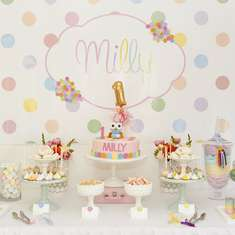 Polka Dots Party Ideas For A Girl Birthday Catch My Party