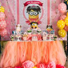 Despicable Me Party Ideas For A Girl Birthday Catch My Party