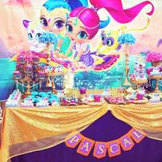 Shimmer And Shine Party Ideas For A Girl Birthday Catch My Party