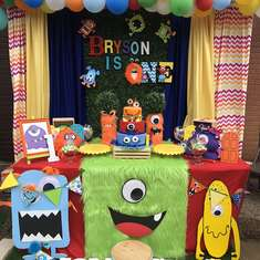 Monsters Party Ideas For A Boy Birthday Catch My Party