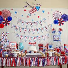 July 4th Party Ideas For A Boy Birthday Catch My Party