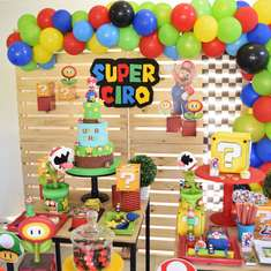 Super Mario Bros Party Ideas Catch My Party