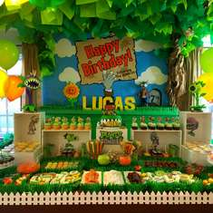 Plants Vs Zombies Party Ideas Catch My Party